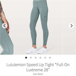 Lululemon full length leggings !